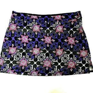 Tranquility Colorado Clothing Co Skort Skirt XXL